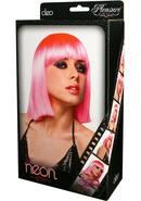 Cleo Wig - Hot Pink