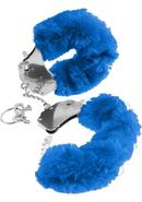 Fetish Fantasy Series Furry Cuffs Blue