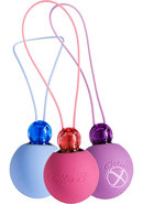 Mae B Lovely Vibes Classy Souft Touch Kegel Balls Training...