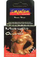 Impulse Condom Midnight Orchid Lubricated 3 Pack