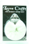 Furry Love Cuffs White