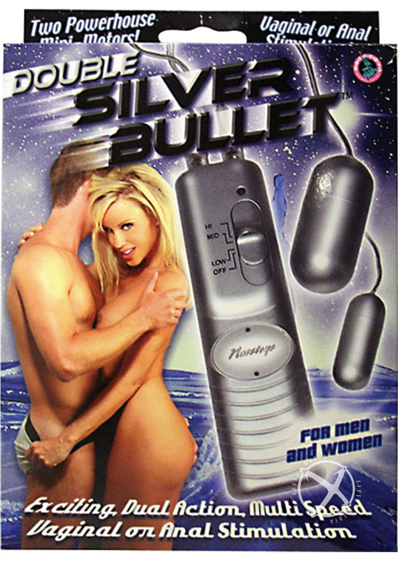 Double Silver Bullet With Remote For Men And Women