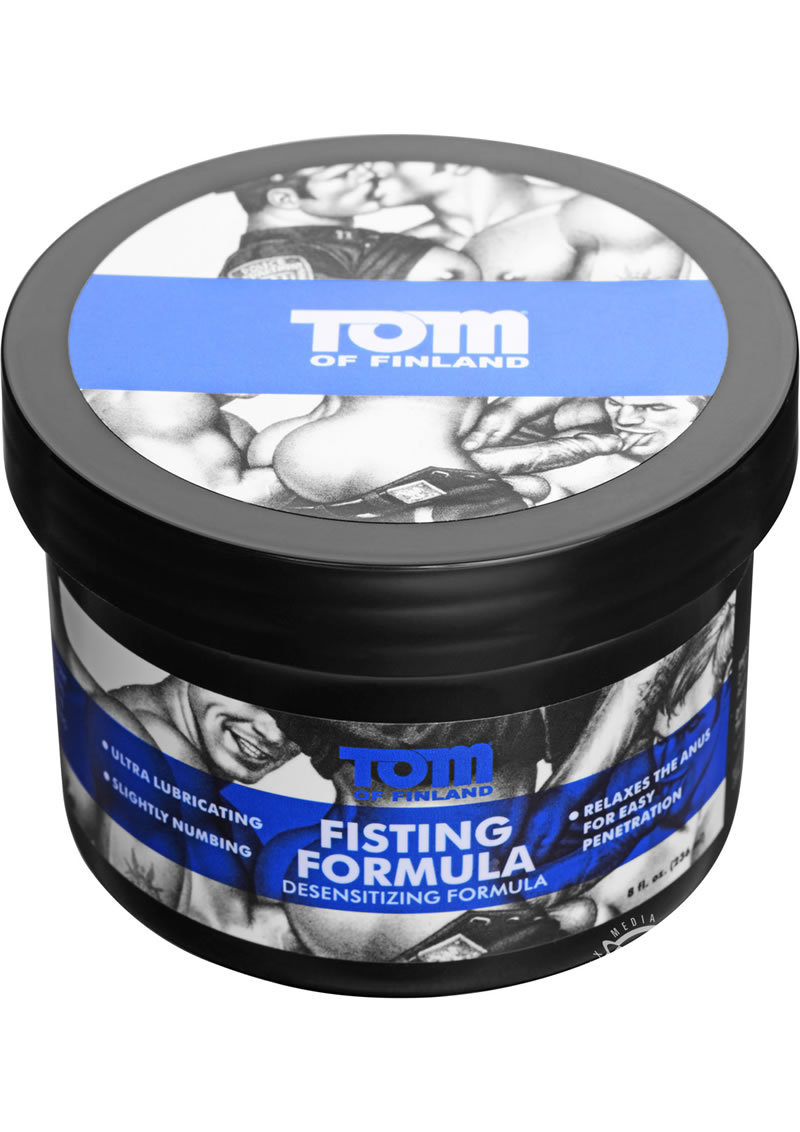 Tom Of Finland Fisting Formula Desensitizing Cream 8 Ounce