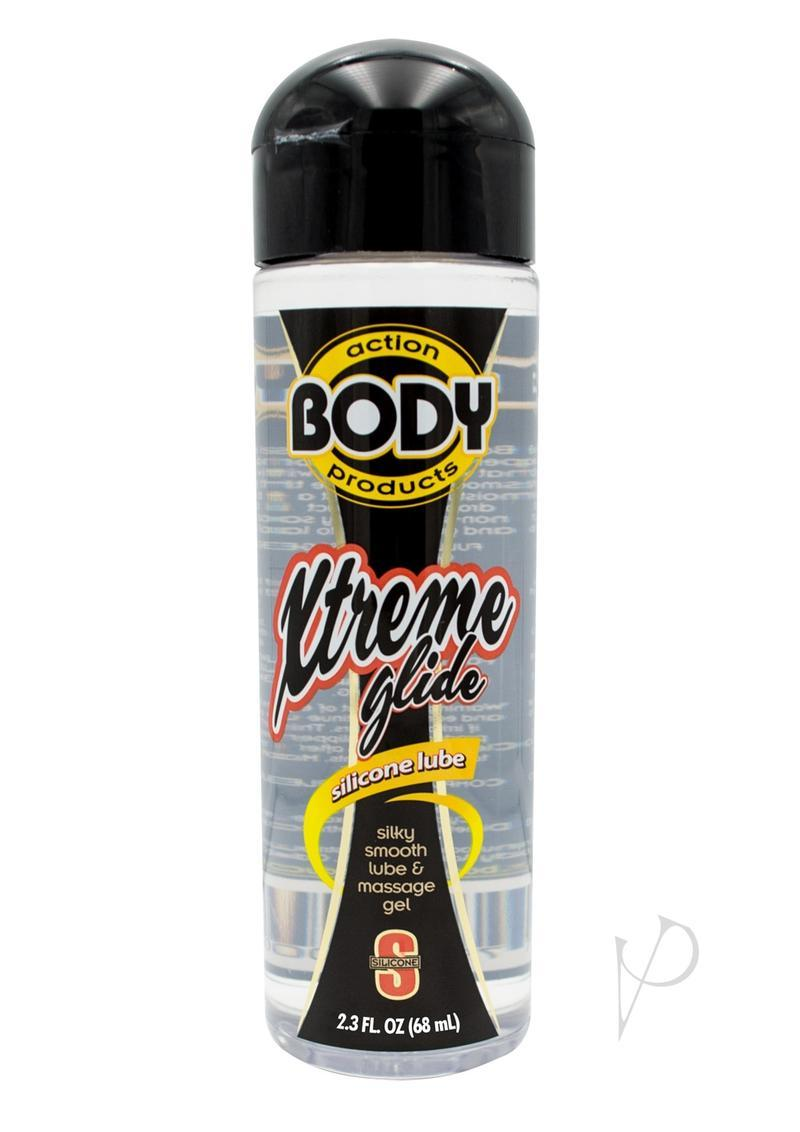 Extreme Glide Body Action Silicone Based Lubricant 2.3 Ounce